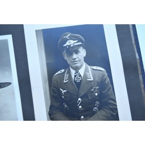 Luftwaffe photo album: airplanes, KC, DK winner portraits,...
