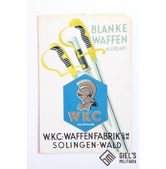 WKC Solingen publicity sign