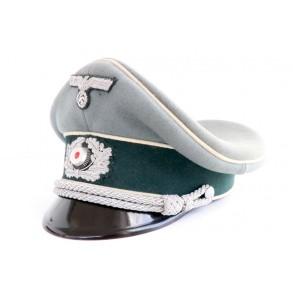 Army officer visor by Schellenberg