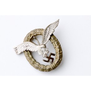 Luftwaffe Pilot Observer badge by F. Linden