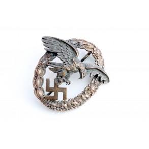 """Luftwaffe observer badge by W. Deumer """"D1"""""""