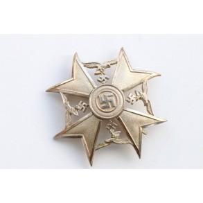Spanish Cross in silver w/o swords