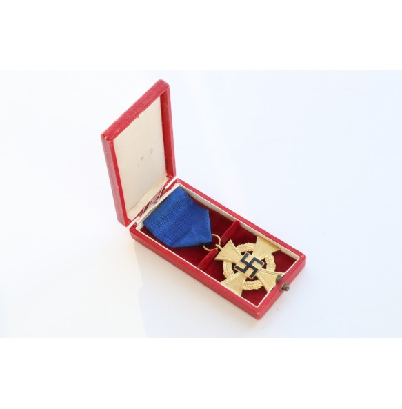 40 year civil service medal + Box by Deschler & Sohn