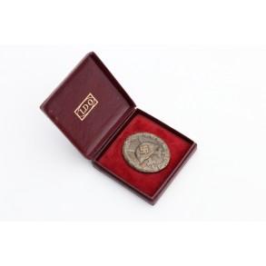 Wound Badge in silver by Schauerte & Höhfeld + LDO case