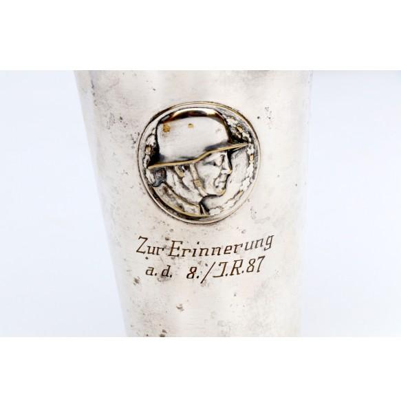 """Tombac cup """"Infanterie Regiment 87"""""""