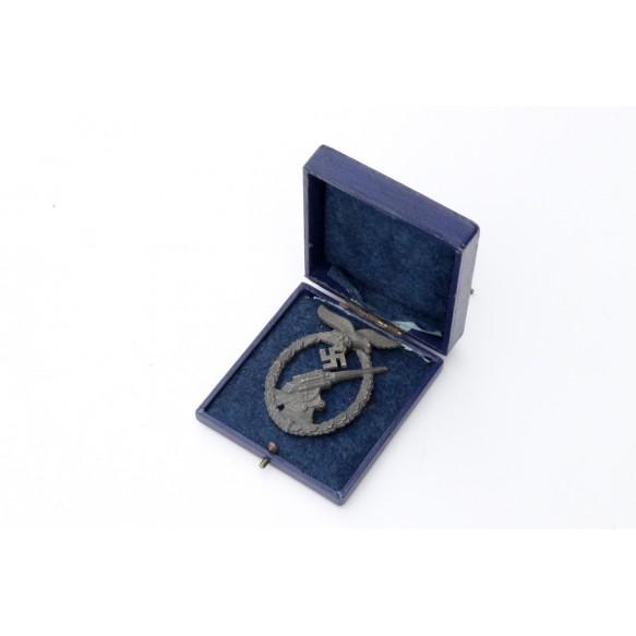 Luftwaffe flak badge by Steinhauer & Lück + box