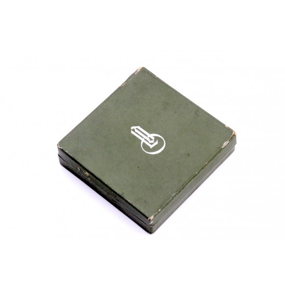 Spanish Cross in bronze/silver green LDO box