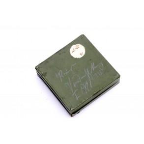 Spanish Cross in bronze/silver green LDO box