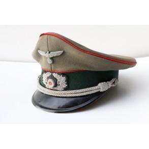 Officer visor cap army artillery by Peküro