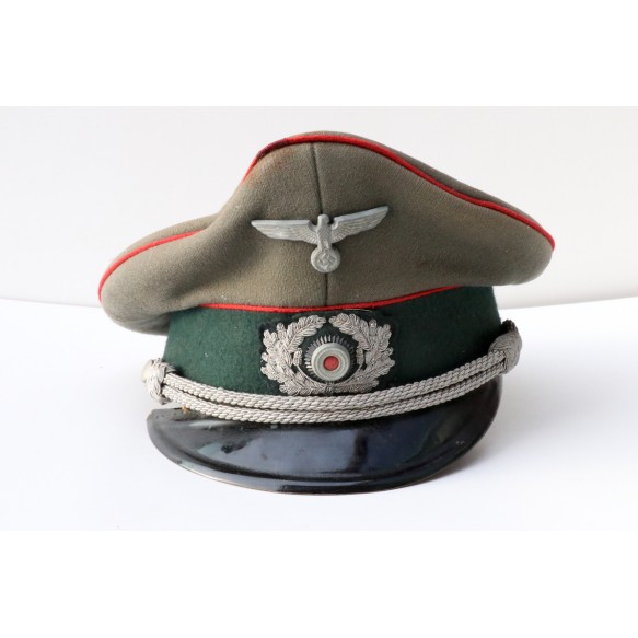 Officer visor cap army artillery by Peküro
