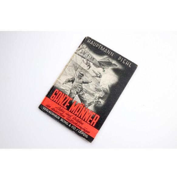 "Paratrooper FJ propaganda booklet ""Ganze Männer"""