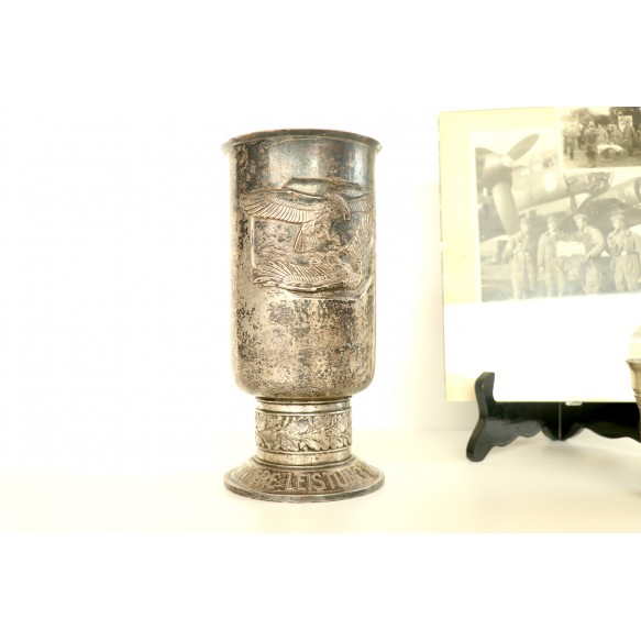 Luftwaffe honour goblet grouping to Ofeldw. A. Baümer, KG3, 1942