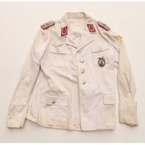 Luftwaffe white summer uniform to Oberstleutnant der Artillerie