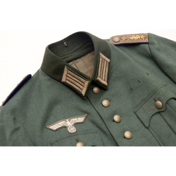 "Alter Art army tunic to Stabsarzt ""Schlapp"" 1934"