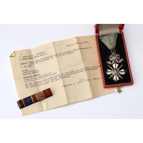 13 March 1938 Austrian annexation medal + box