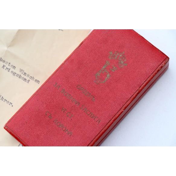 13 March 1938 Austrian annexation medal + box