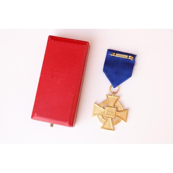 40 year civil service medal + Box by Deschler & Sohn