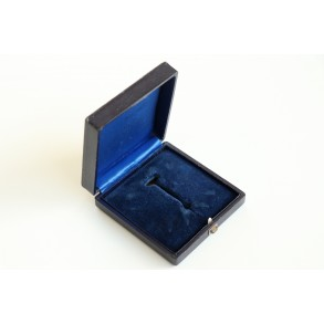 Blue box for spanish cross in silver