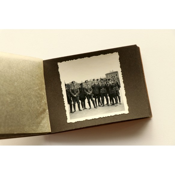 Small photo album medical training for army NCO's 1937