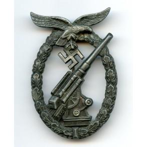 Luftwaffe flak badge by W. Hobacher