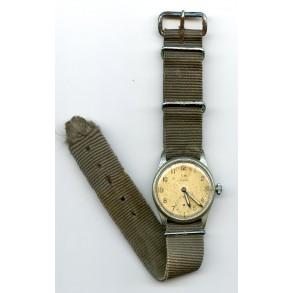 """Kriegsmarine wrist watch #123809 by """"Siegerin"""""""
