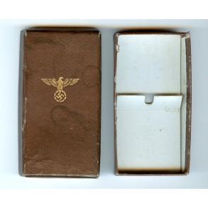 NSDAP 10 year service medal box