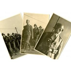 3 Private Luftwaffe parade photos