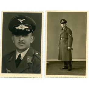 2 Luftwaffe portrait photos taken in Höchst