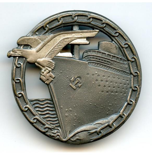 Kriegsmarine Blockade Breaker badge by AGMuK
