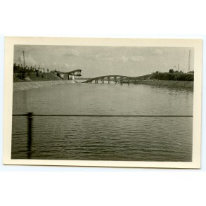 Private snapshot Albert Canal blown up bridge May 1940