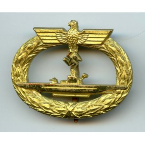 U-Boat badge by Schwerin Berlin