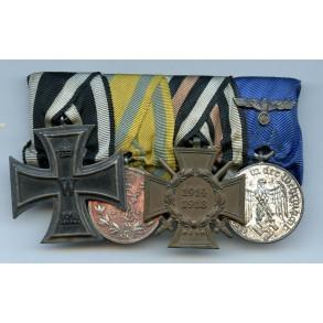 4 place Saxony medal bar