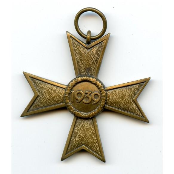 War merit cross w/o swords by + package by Bury & LeonhardHanau a. M