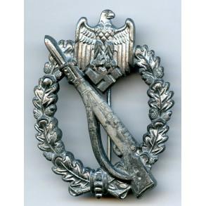 """Infantry Assault Badge in silver by Brüder Schneider A.G """"BSW"""""""