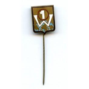 """Luftwaffe """"Staffelabzeichen"""" """"1 W"""""""