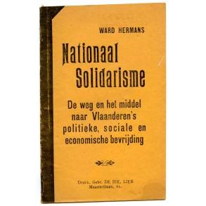 "Flemish pre war propaganda: ""Nationaal Solidarisme"" by ex VNV member Ward Hermans"