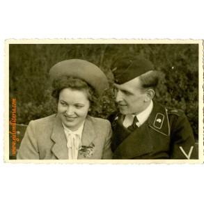 """Portrait GD Panzer """"Grossdeutschland"""" Kriegsberichter Pfeiffer"""