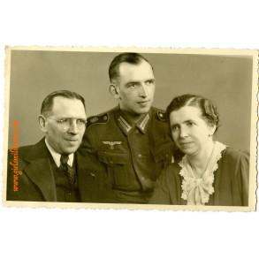 """Portrait GD Panzer """"Grossdeutschland"""" Kriegsberichter Pfeiffer army"""
