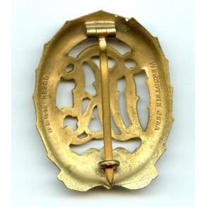 DRL sport badge in gold by Wernstein