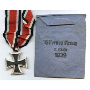 Iron Cross 2nd class by F. Keller + package