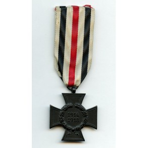 1914-1918 Honour cross for widows
