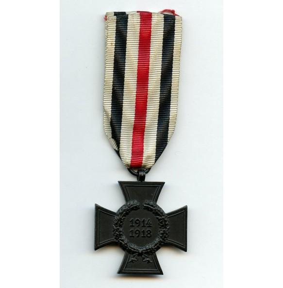 1914-1918 Honour cross for widows