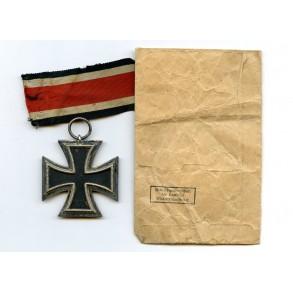 """Iron Cross 2nd class by Arbeitsgem. der Hanauer Plak. herst. """"24"""" + package"""