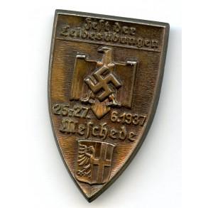 """Tinnie """"Fest der Leibesübungen, 25.-27.6.1937, Meschede"""