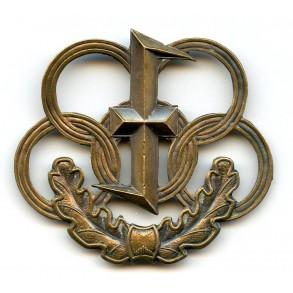 Flemish Dietse Militie/Zwarte Brigade sports badge