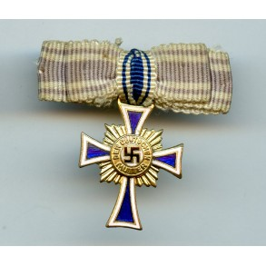 Mother Cross in gold miniature by unknown maker