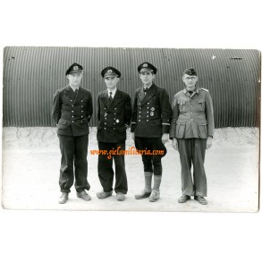 Private photo POW's in Norderney 1945