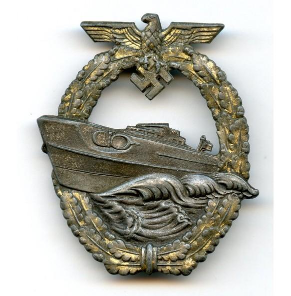 Kriegsmarine S-Boat badge by Schwerin