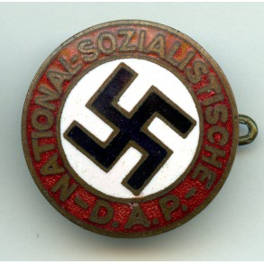 Party pin, early variant
