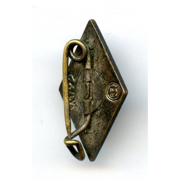 "HJ membership pin by Karl Wild ""M1/92"""